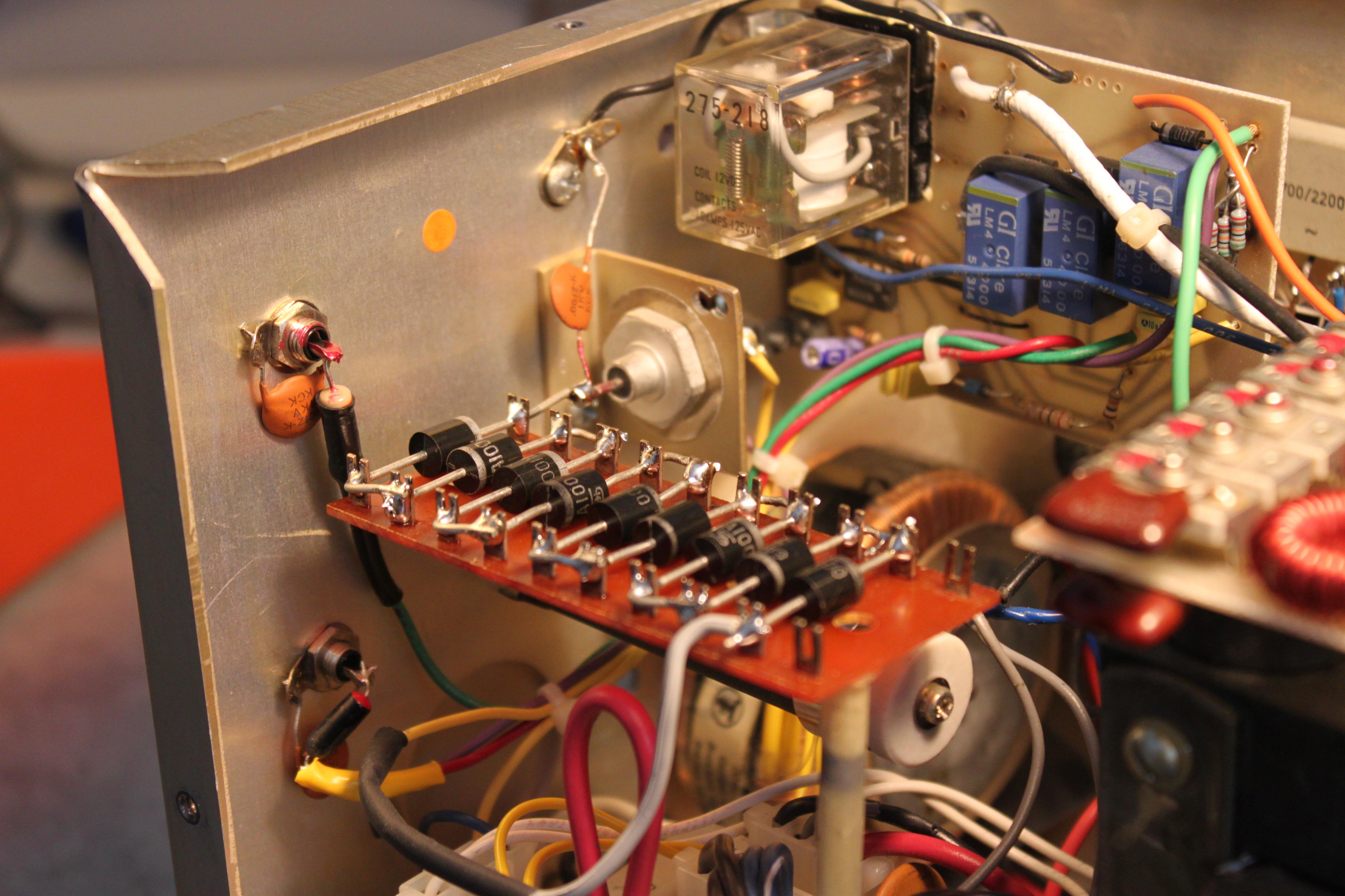 Modified LK450 amplifier